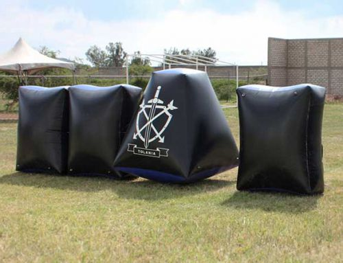 Paintball inflatables